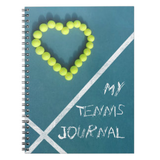 Tennis Journal personalised