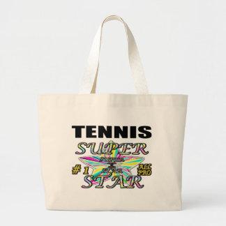tennis jumbo tote bag