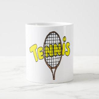 Tennis Large Coffee Mug