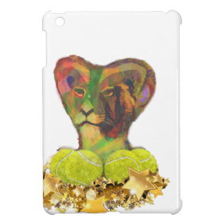 Tennis, Lion and the Stars iPad Mini Cases