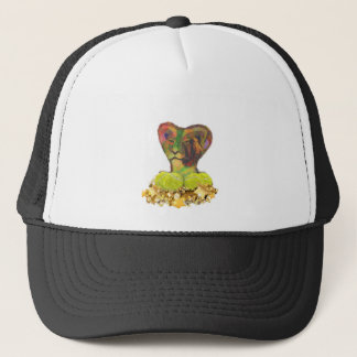 Tennis, Lion and the Stars Trucker Hat