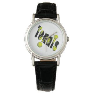 Tennis Logo And Yellow Balls, Watch