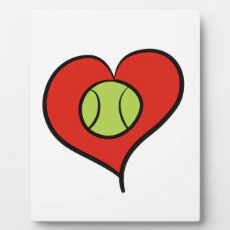 Tennis love plaque