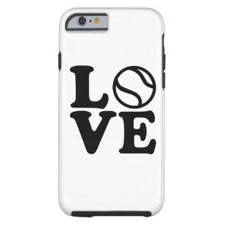 Tennis love tough iPhone 6 case