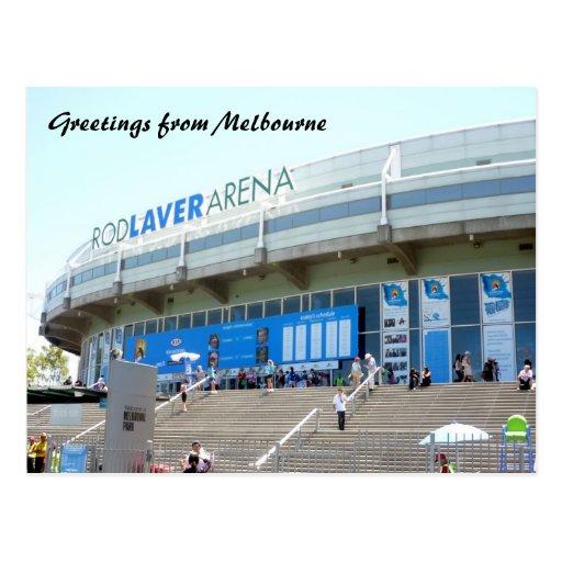 tennis melbourne postcards