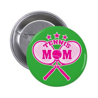 Tennis Mom 6 Cm Round Badge