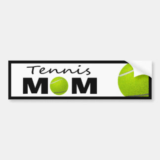 Tennis Mom Bumper Sticker