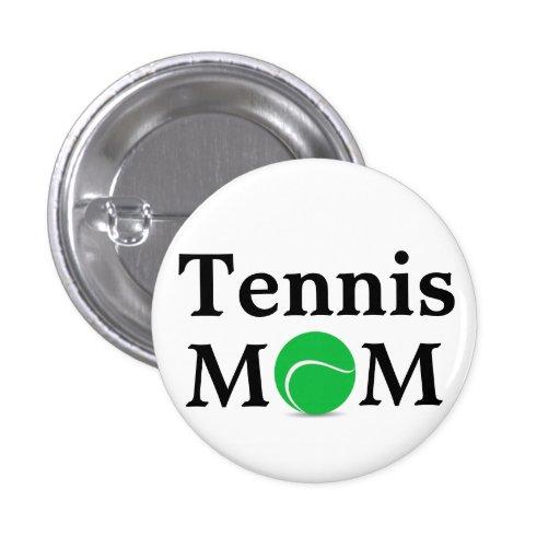 Tennis Mom Button