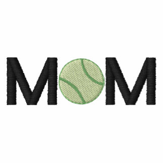 Tennis Mom Embroidered Shirt