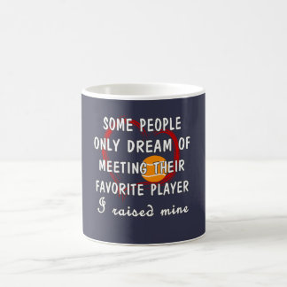 Tennis Mom Favorite Player Coffee Mug