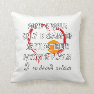 Tennis Mom Favorite Player Cushion