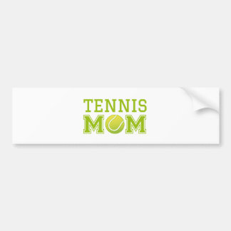 Tennis mom, text design for t-shirt bumper sticker