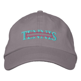 Tennis Name Drop Embroidered Hats