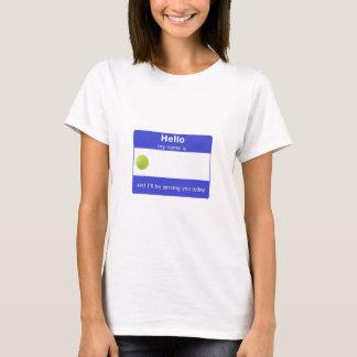 Tennis Name Tag T-Shirt