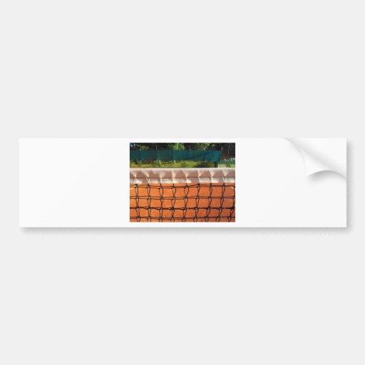 Tennis Net Bumper Sticker