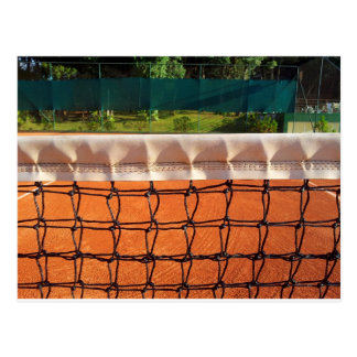 Tennis Net Postcard