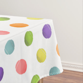 Tennis Party Tablecloth