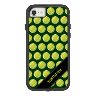 Tennis Pattern Personalizable Sport Green Gift Case-Mate Tough Extreme iPhone 8/7 Case