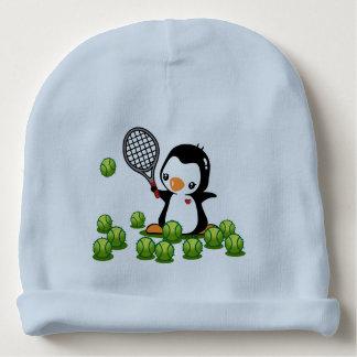 Tennis Penguin Baby Beanie