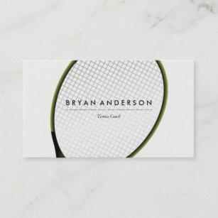 Tennis instructor business cards zazzle au tennis personal business card colourmoves