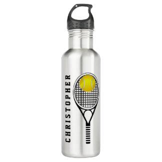 Tennis Personalised Name or Monogram 710 Ml Water Bottle