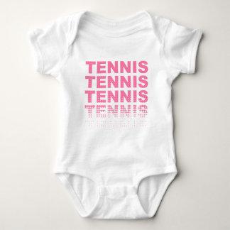 Tennis pink lover baby bodysuit