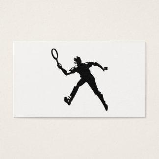 Tennis Player Business Card