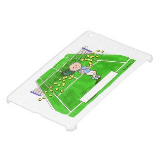 Tennis Player, Male - Personalized Cartoon iPad Mini Cover