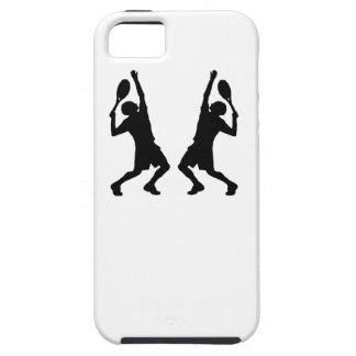 Tennis Player Mirror Image iPhone 5/5S Case