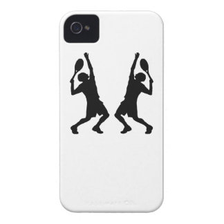 Tennis Player Mirror Image iPhone 4 Cover