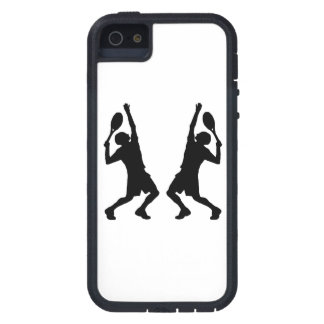 Tennis Player Mirror Image iPhone 5 Covers