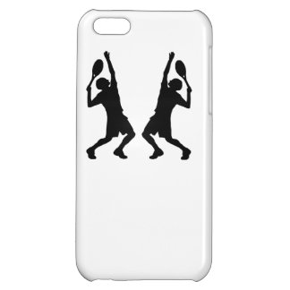 Tennis Player Mirror Image Cover For iPhone 5C