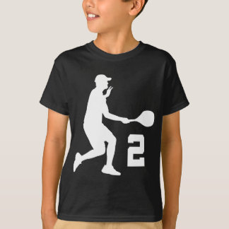 Tennis Player Number 2 Gift T-Shirt