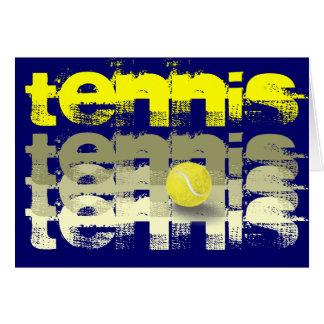 Tennis Player, tennis encouragement Greeting Cards