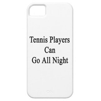 Tennis Players Can Go All Night iPhone 5 Covers