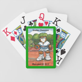 Tennis Playing Cards