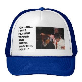 TENNIS POLE? CAP