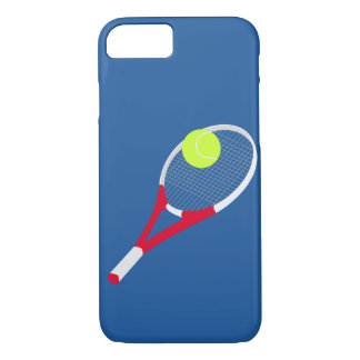 Tennis racket and tennis ball iPhone 8/7 case