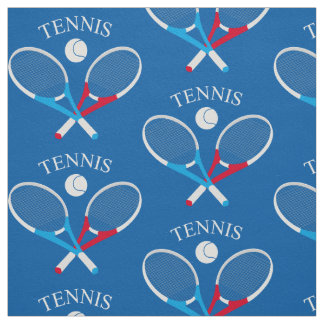 Tennis rackets and tennis ball fabric