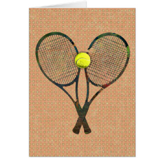 TENNIS RACQUETS & BALL Card