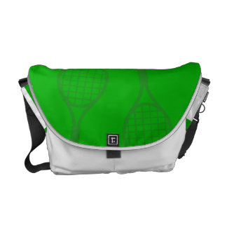 Tennis Racquets Messenger Bag