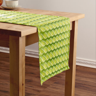 Tennis Rules! Cool Green Sport Gift Short Table Runner