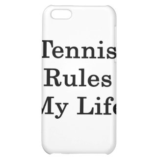 Tennis Rules My Life iPhone 5C Case