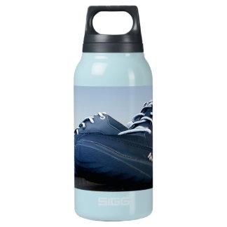 Tennis Shoes, blue, water bottle, custom Insulated Water Bottle