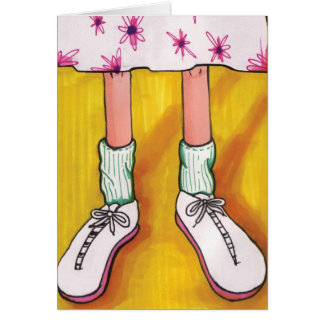 Tennis Shoes Greeting Card