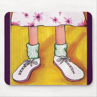 Tennis Shoes Mouse Pads