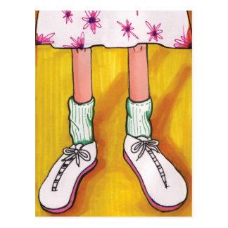 Tennis Shoes Postcard