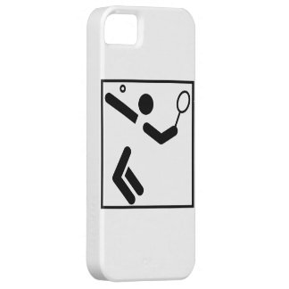 Tennis Silhouette Figure Case For The iPhone 5