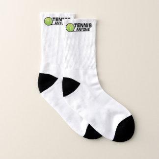 Tennis Small All-Over-Print Socks 1