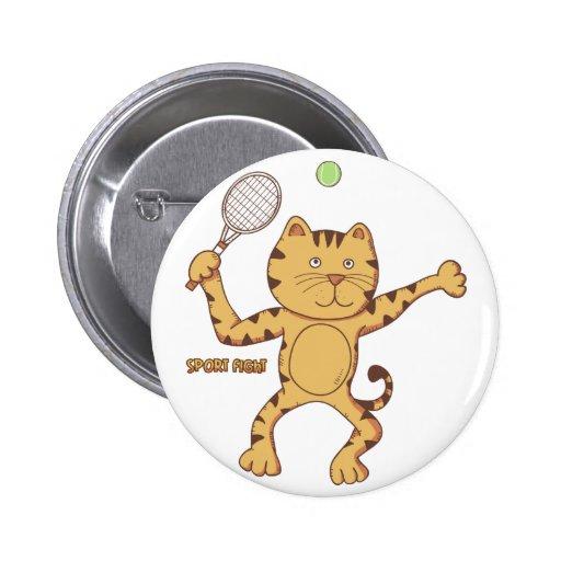 Tennis sport fight Button